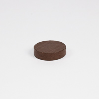 Wooden game counter, in Brown