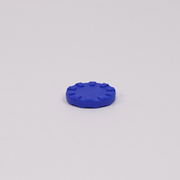 15mm Stacking Counter Blue