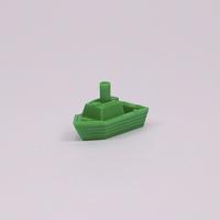 Tug Boat Green