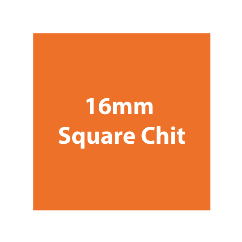 Made from Chit Board material, 16mm chits that are often used as currency or rewards.