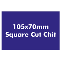 Made from our own chit board material, 105x70mm square cut chits. Often used as currency or rewards.