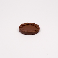 30mm Stacking Counter Brown