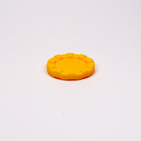 30mm Stacking Counter Yellow