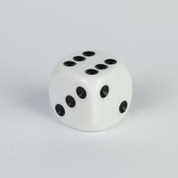 16mm White Spot Dice