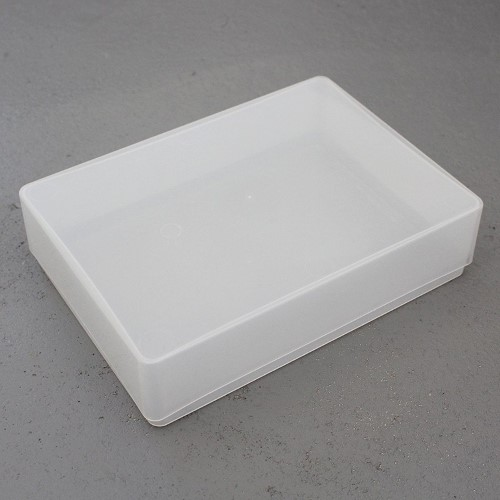 Rigid plastic storage box, great for games that don't need a printed box A5 paper size (Half A4)