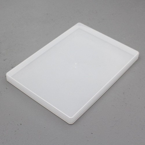 Rigid plastic storage box, great for games that don't need a printed box A4 paper size.
