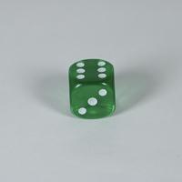 Gem Green D6 Dice