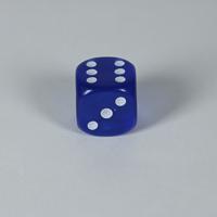 Gem Blue D6 Dice