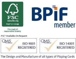 FSC, BPIF, ISO 14001, ISO 9001
