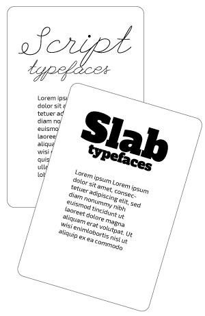 Slab Typefaces