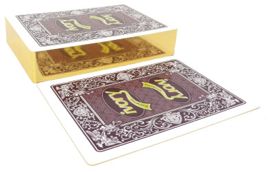 Gilt Edge Playing cards