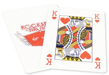Playing Cards Personalised One Side