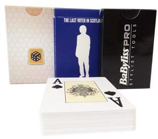 Various Plastic Playing Cards