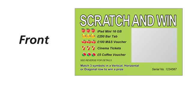 Scratch Card Front
